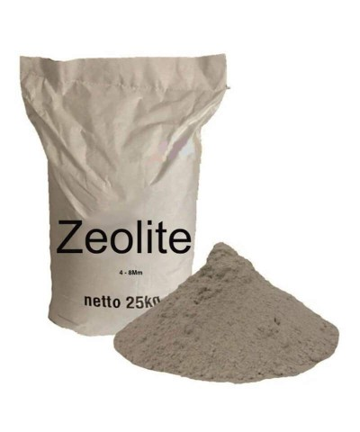 4 - 8Mm Zeolita para acuarios, piscinas y estanques biológicos 25Kg.-1.