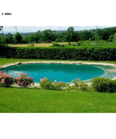4 - 8Mm Zeolita para acuarios, piscinas y estanques biológicos 25Kg.-3.