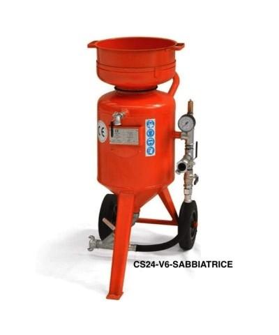 Freistrahl-Sandstrahlmaschine - Belüfteter Helm M06 - 7 bar - 24 Liter LordsWorld - Sabbiatrici E Accessori - 1