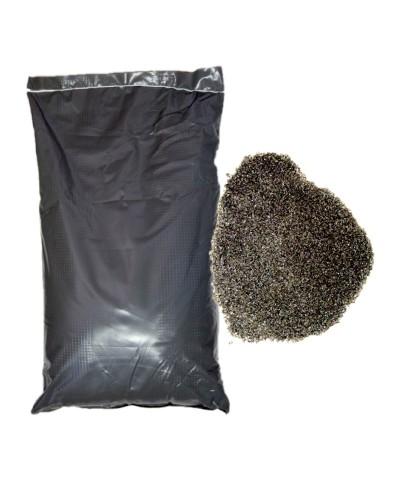 Arena abrasiva para arenado 0,2 - 0,8Mm POLEN Escoria de cobre 25kg LordsWorld - Loppa - 1