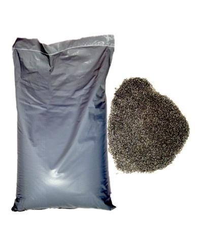 POLEN Abrasive sand for sandblasting  0,1 - 0,4Mm  Copper slag 25kg LordsWorld - Loppa - 1
