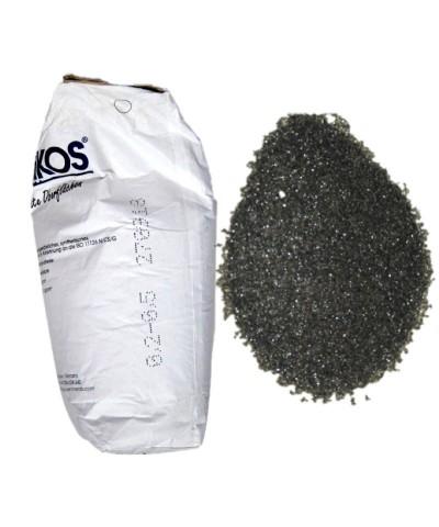 Sabbia abrasiva per sabbiatura 0,2-0,5Mm ASILIKOS Scoria di rame 25Kg Asilikos - 2