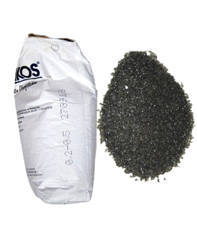 Strahlmittel zum Sandstrahlen 0,2 - 0,5mm ASILIKOS Kupferschlacke 25Kg Asilikos - 2