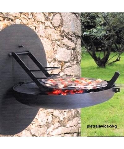 5kg Lavastein für Barbecue, Sauna und Aquarium Dekoration-2.