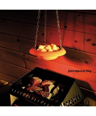 5kg Lavastein für Barbecue, Sauna und Aquarium Dekoration-4.