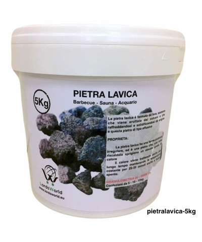 5kg Lava stone for barbecue, sauna and aquarium decoration-1.