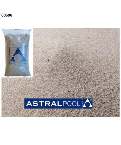 (00596) 0.4-0.8Mm Sabbia quarzifera per filtri a sabbia 25Kg-2.
