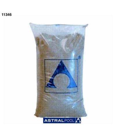 (11346) 3.0-5.0Mm Cuarzo grava para filtros de arena 25Kg
