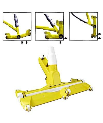 14899 FAIRLOCKS Aspirador de lodo articulado con ruedas AstralPool - 3