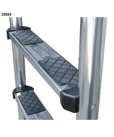 Ladder with 3 steps for swimming pool with overflow edges - 32654 AstralPool - 2