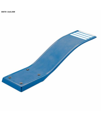 00076 Trampolín elástico modelo delfín cielo azul color 1,6x0,35cm-2.