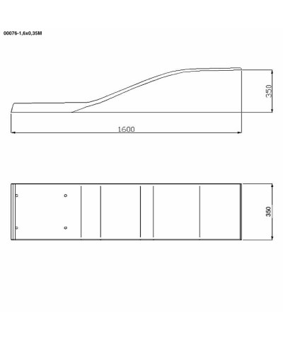 Trampolino elastico per piscina - Modello Dolphin - celeste - 00076 AstralPool - 4