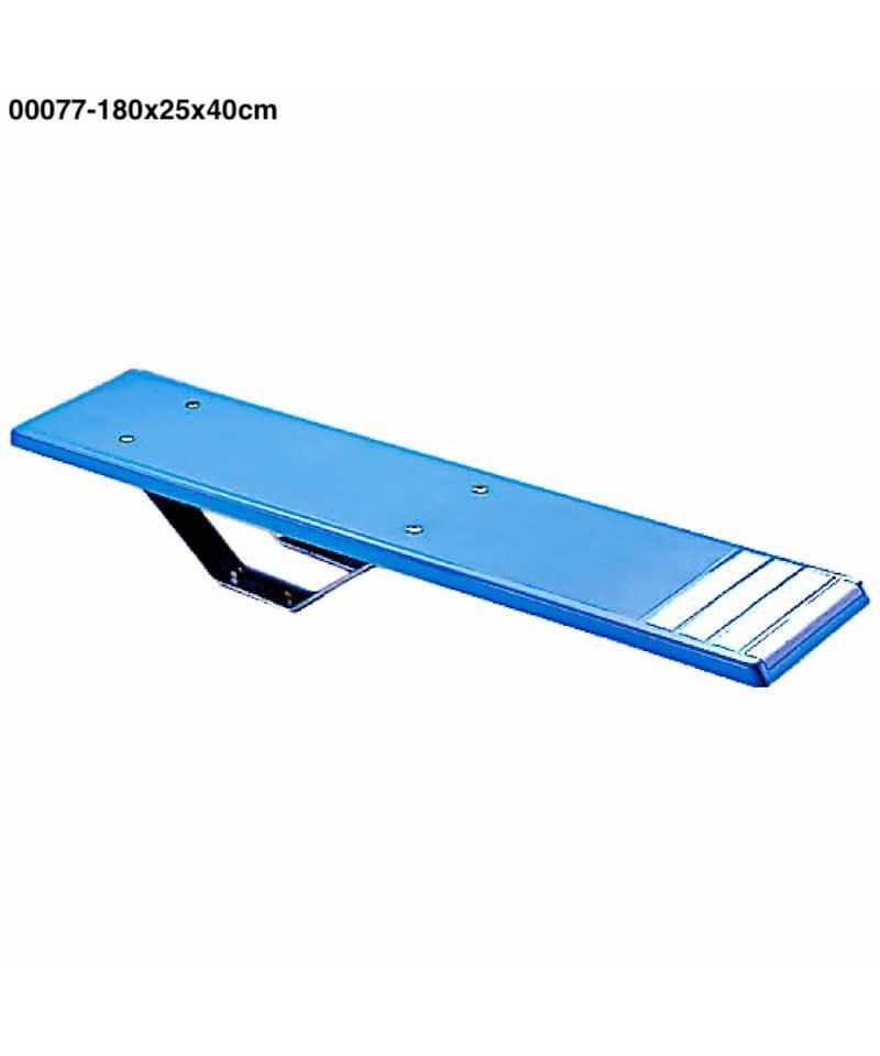 00077 Trampolín y tabla BALESTRA modelo 180x25x40cm-1.