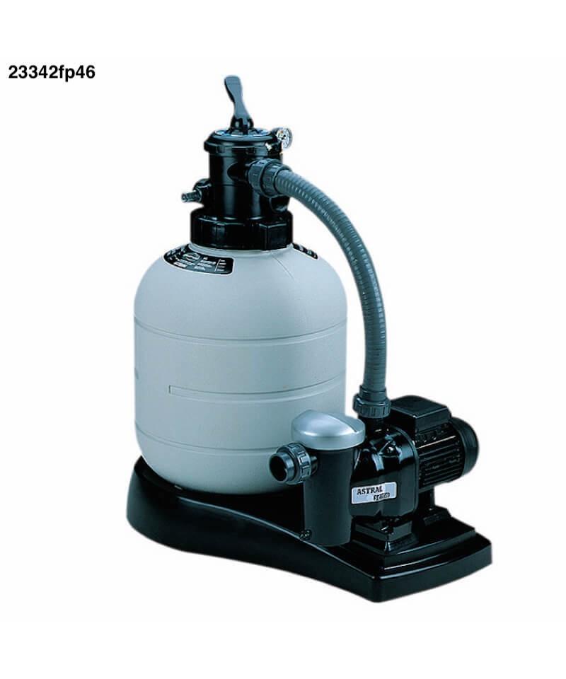 Sandfilter MILLENNIUM Monobloc 0,33Cv pour piscine - 23342fp46 AstralPool - 1