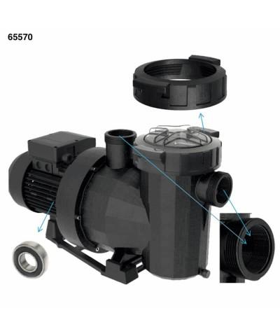 Bomba de filtración piscina VICTORIA plus silent 3Hp trifásica - 65570 AstralPool - 2
