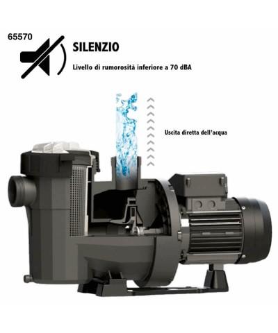 Pompa filtrazione piscina VICTORIA plus silent 3cv trifase - 65570 AstralPool - 3