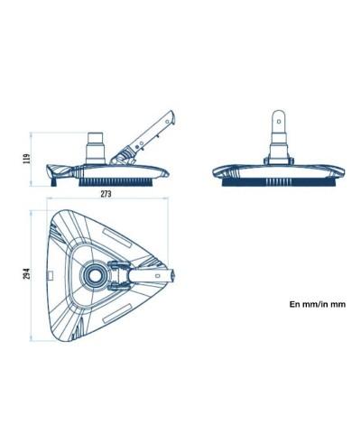 SERIE SHARK Aspirador de lodo triangular-2.