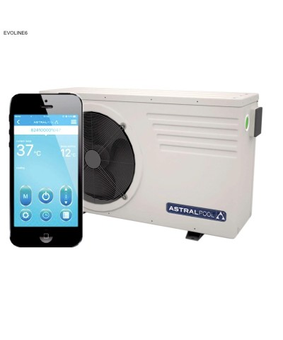 Pompe à chaleur Astralpool EVOLINE6 pour piscine - 66069MOD AstralPool - 2