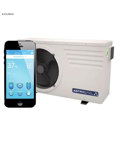 Pompe à chaleur Astralpool EVOLINE20 pour piscine - 66073MOD AstralPool - 2