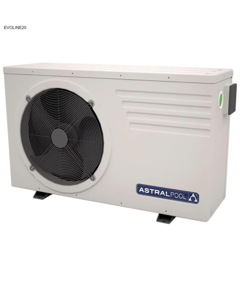 Pompe à chaleur Astralpool EVOLINE20 pour piscine - 66073MOD AstralPool - 1