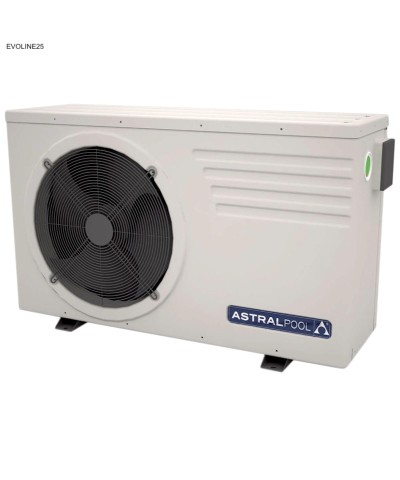 66074-MOD Astralpool heat pump EVOLINE25 for swimming pools AstralPool - 1