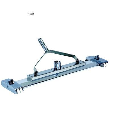 Aspirateur à boue piscine en métal - long 840mm avec fourches - 16601