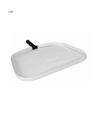 Filet de surface piscine en aluminium blanc avec fixation clip - 23360 AstralPool - 1