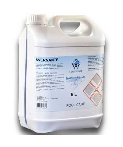 Overwintering Liquid for pools - Winter treatment for pools 5Lt LordsWorld Pool Care - 1