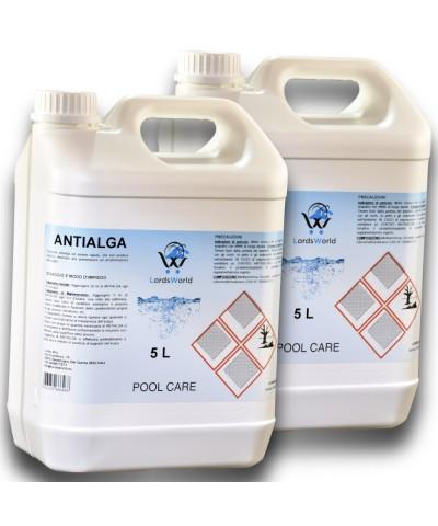 10Lt (2 X 5Lt) Líquido anti-algas sin espuma algicida-1.