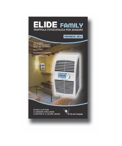 ELIDE FAMILY Trampa fotocatalítica natural para mosquitos. GMR TRADING - 2