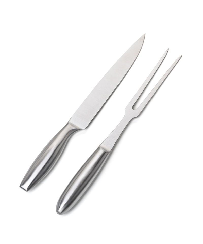 Set da taglio per barbecue in acciaio inox - Accessori per barbecue FLASH - 1