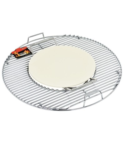 Ceramic stone for pizza - Barbecue accessories FLASH - 1