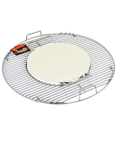 Pietra ceramica per pizza - Accessori per barbecue-1.