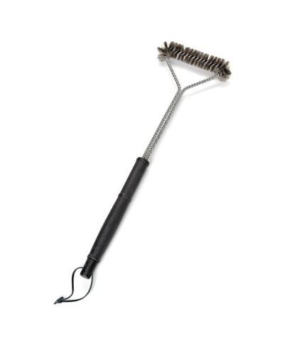 Cepillo para barbacoa triangular 54 cm - Accesorios barbacoa FLASH - 1