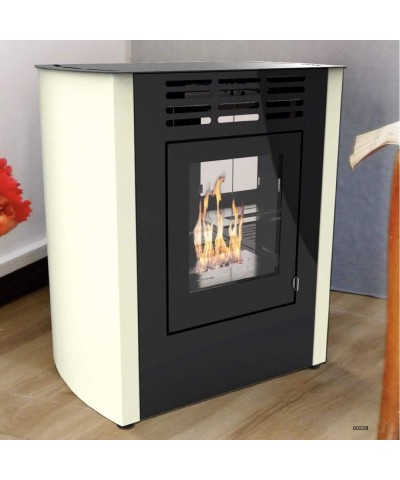 Home heating - Biostoves ventilated white - Melodia junior - 00228 GMR TRADING - 1