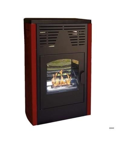 00222 Calefacción-estufas Bio-ventiladas-bordeaux-Melodia