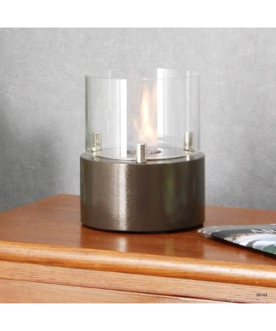 00143 Table heater - design fireplace - Moka - Giotto Candle GMR TRADING - 2