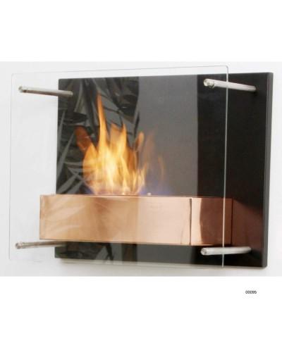 Cheminée chauffante murale - Rosé - Fuchs Junior - 00095 GMR TRADING - 1