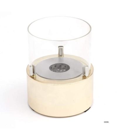 00096 Calentador de mesa - chimenea de diseño - Oro - Vela Giotto GMR TRADING - 2