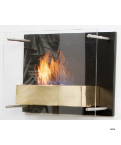 Wall-mounted heating fireplace - Gold - Fuchs Junior - 00094 GMR TRADING - 1