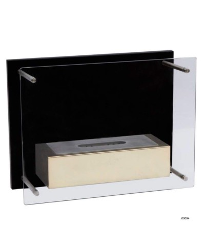 Wall-mounted heating fireplace - Gold - Fuchs Junior - 00094 GMR TRADING - 2
