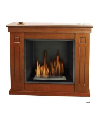 Calefacción de hogar - Chimenea ecológica Raffaello - Nogal - 00090 GMR TRADING - 1