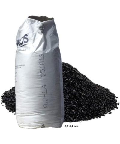 Abrasive sand for sandblasting 0,2 - 1,4Mm ASILIKOS Copper slag 25Kg Asilikos - 2