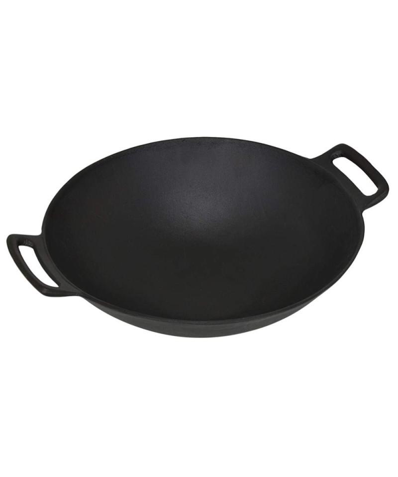 Cast iron wok - Barbecue accessories FLASH - 1