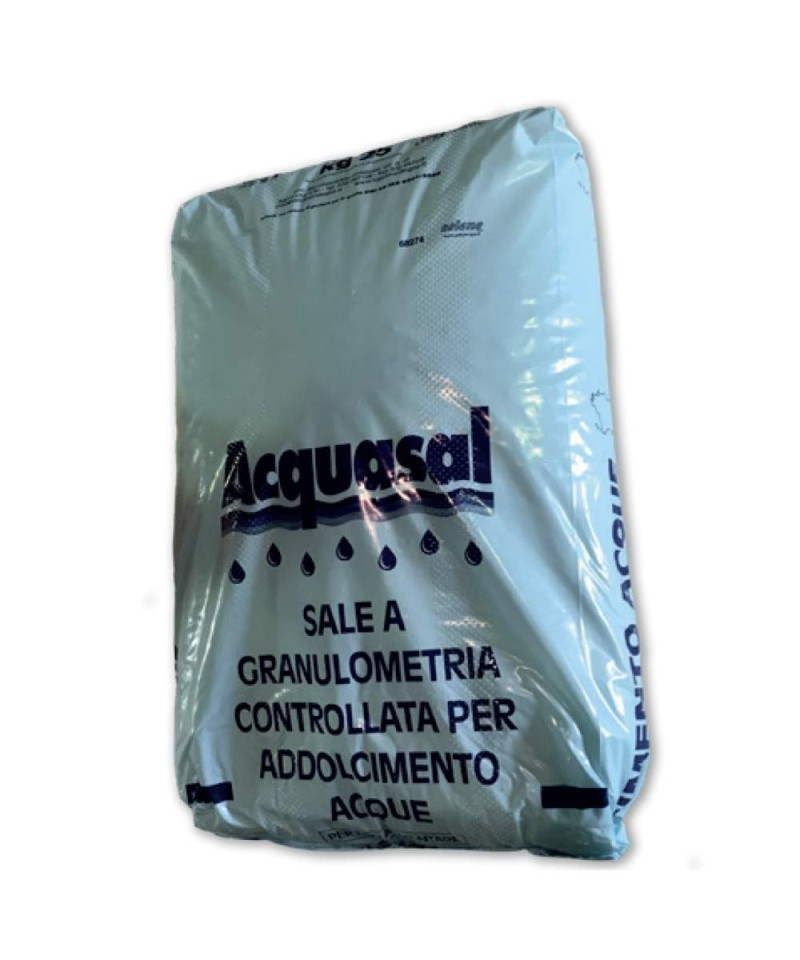 Sal marina seca granulada NaCl 99,6% para piscinas 25kg - 22608 AstralPool - 1