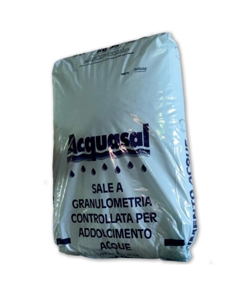 Sel de mer granulaire séché NaCl 99,6% pour piscines 25kg - 22608 AstralPool - 1