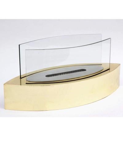 Chauffage de table - Cheminée au bioéthanol - Cheminée Vanda GOLD 00098 GMR TRADING - 1