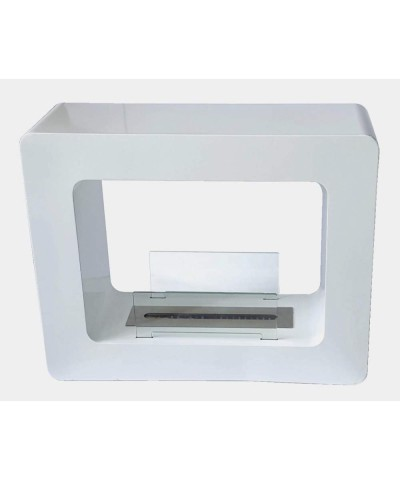 Heating - Electric Fireplace - Tikal White 00134 GMR TRADING - 1