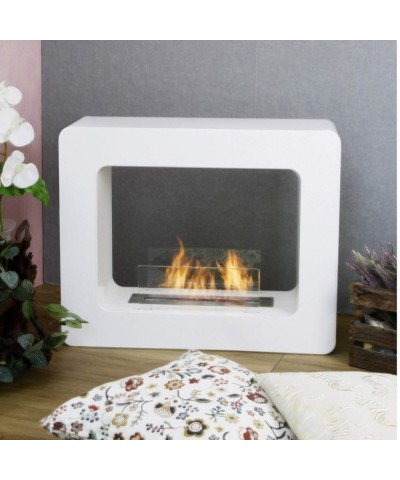 Heating - Electric Fireplace - Tikal White 00134 GMR TRADING - 2