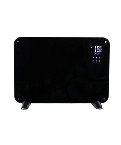 Wall heating - Heating panel - Leo black 12702 GMR TRADING - 1